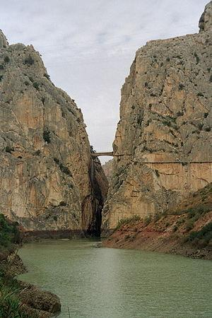 Alhaurin el Grande, Hiszpania: The Canyon at El Chorro