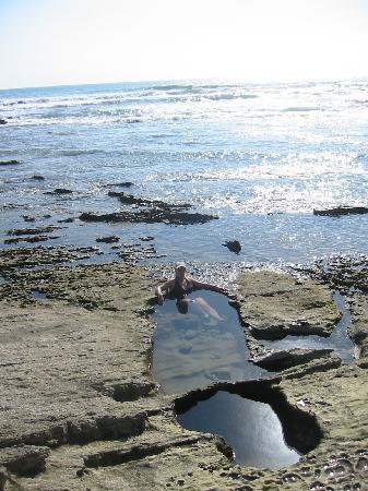 Casa de la Luna: La playa de Santa Teresa cuenta con picina naturales, las que de dan una paz increíble