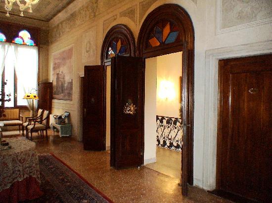 Locanda San Barnaba: le grand salon