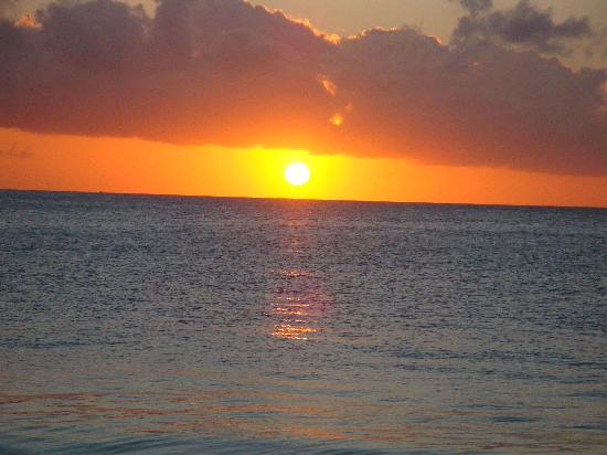 The Valley, Anguilla : Sunset from Roy's