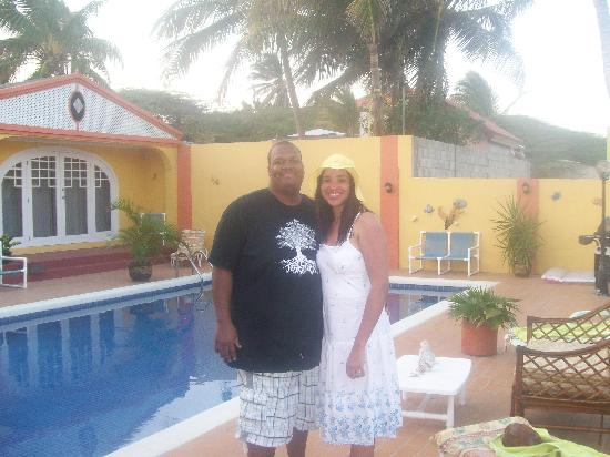 Tropical Breeze Hideaway: Us at the B&B