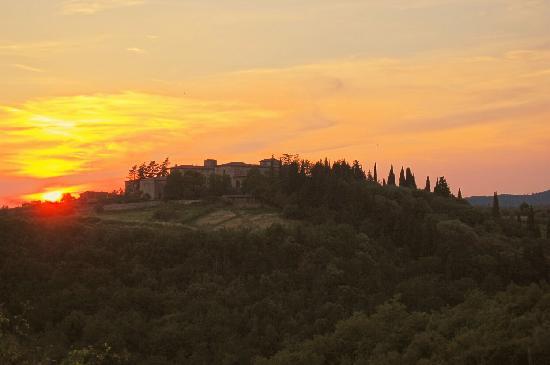 Hotel Belvedere Di San Leonino: Tramonto