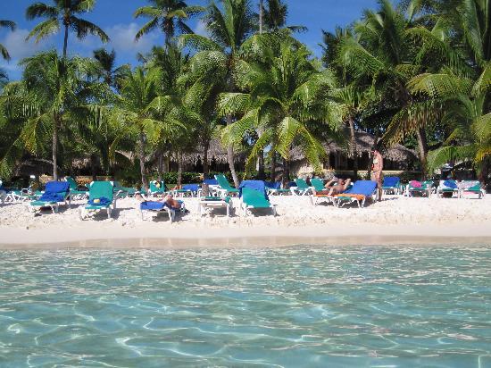 Bayahibe, Dominikanische Republik: un pisolino all'ombra delle palme