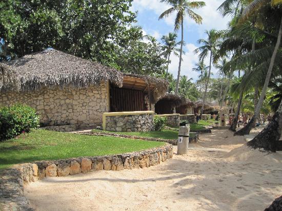 Bayahibe, Δομινικανή Δημοκρατία: girovagando tra i bungalow vista mare