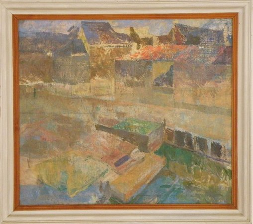 Vagur, Faroe Islands: Ruth Smith, Oil Painting of Nyhavn in Copenhagen