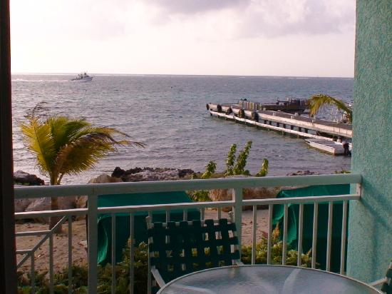 Compass Point Dive Resort: View of dock