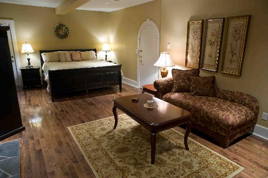 The Castle Inn: one of our rooms