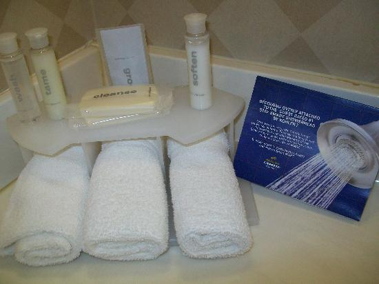 Holiday Inn Express Eagle Pass: Bathroom Amenities