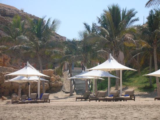 Shangri-La Al Husn Resort & Spa : Private beach Al Husn