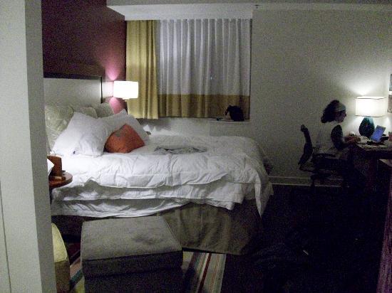 Hotel Indigo Asheville Downtown: comfy bed!