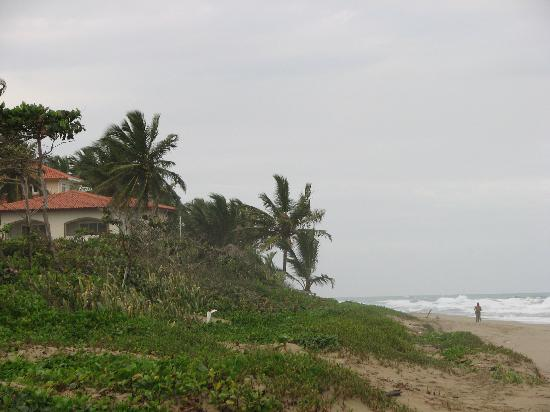 Barefoot Beach Pad: View from the beach