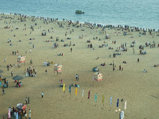 Kollam, الهند: Kollam Beach.