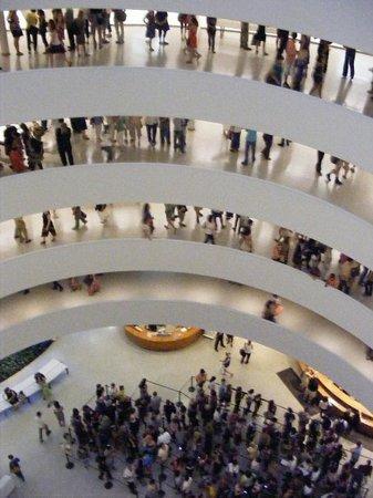 Solomon R. Guggenheim Museum: levels