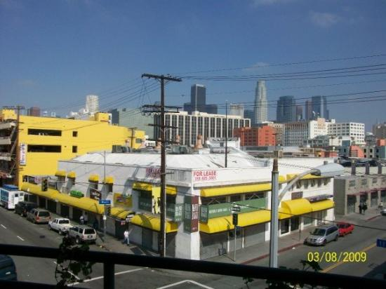 Standard Downtown: View of downtown L.A.