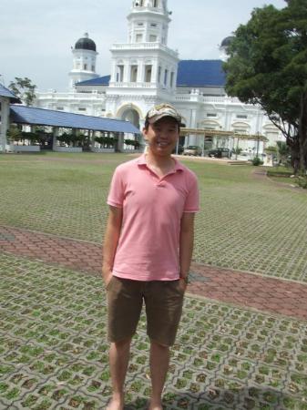 Johor Bahru, Malaysia: Is Me...at Royal Mosque