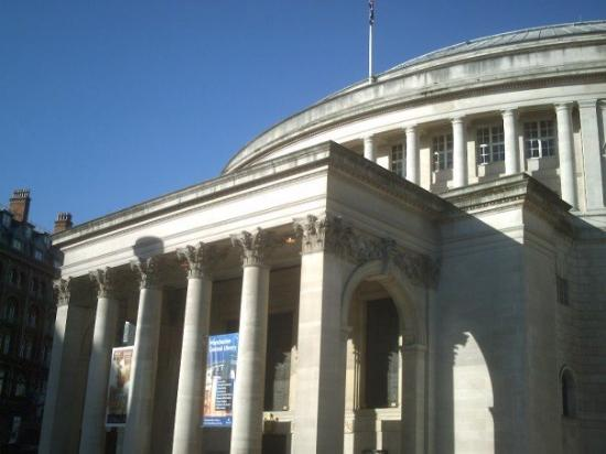 Manchester Central Library Photo