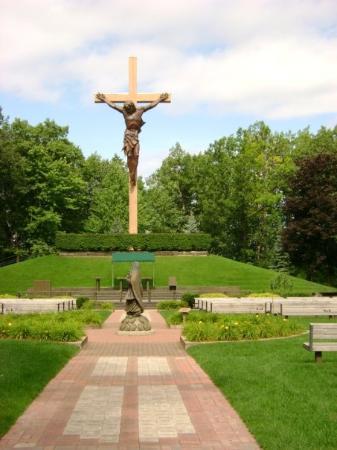 Cross In The Woods Was Breath Taking Picture Of Mackinaw City Cheboygan County Tripadvisor