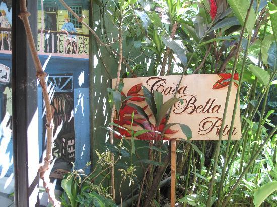 Casa Bella Rita Boutique Bed & Breakfast: Sign
