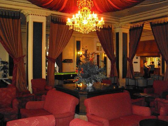 Whakapapa, New Zealand: Grand lounge