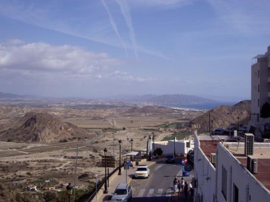Almería, España: Mojacar Pueblo - with views of the sea