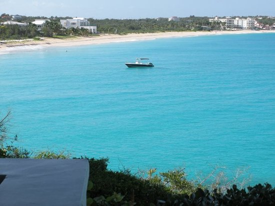 Anguilla: View from our villa.
