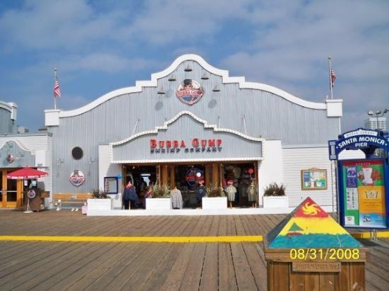 Bubba Gump Restaurant On Santa Monica Pier Picture Of Bubba Gump