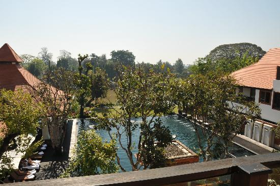 Ratilanna Riverside Spa Resort Chiang Mai: View from our balcony