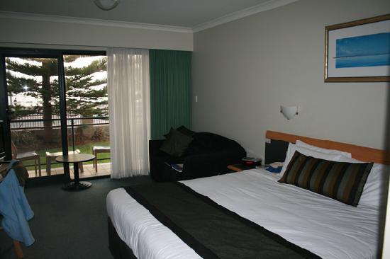 Quality Resort Sorrento Beach: Zimmeransicht