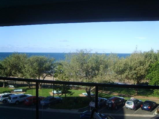 Kacy's Bargara Beach Motel Complex: Balcony view