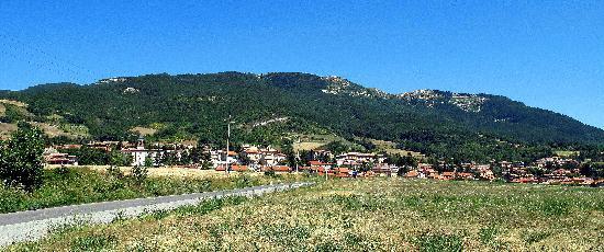 Carpegna, panorama estivo