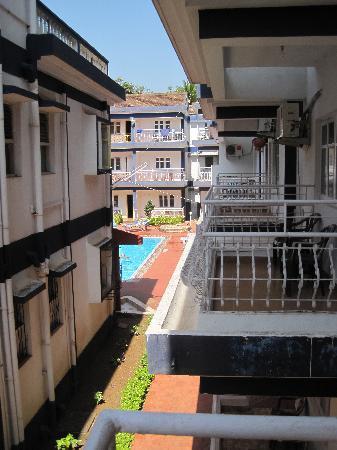 Beira Mar Alfran Resort: Taken from Room 364
