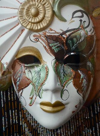 Ca' del Nobile: maschera di carnevale