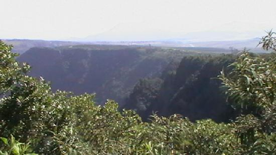 Greater Johannesburg, Sør-Afrika: View from 'God's Window' Panorama Route,SA