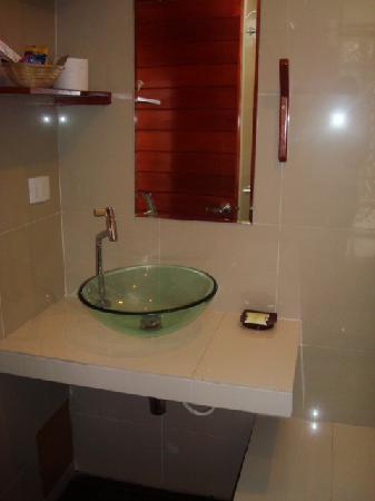 Amazon Apart Hotel: Bagno