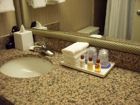 Bathroom Amenities bathroom amenities in the upgraded 'club' level floor - picture of