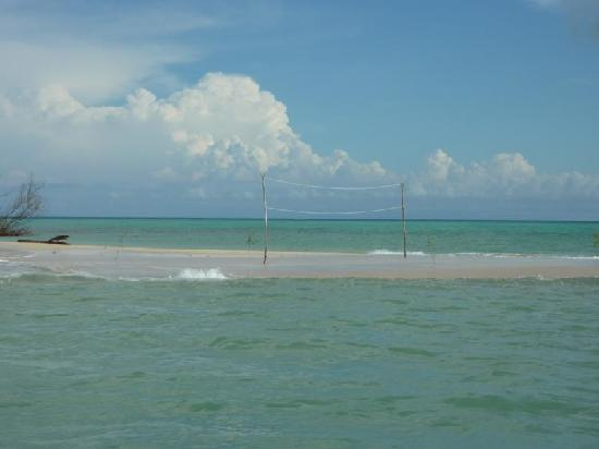 Blue Lagoon Beach Resort: Perfect Volleyball-court