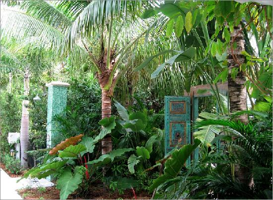 Lush Gardens Very Private Feeling Tropical Picture Of