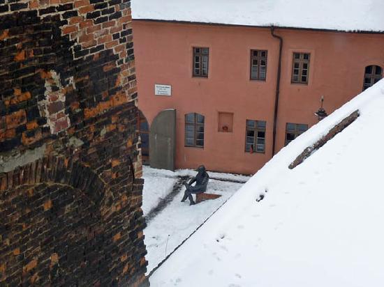 Ringhotel Schwarzer Baer: Schwarzer Baer, Blick zum Cranachhof