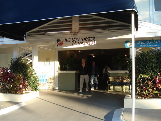 Longboat Key, FL: The entrance to Lazy Lobster
