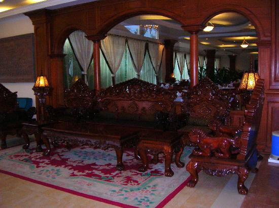 Apsara Angkor Resort & Conference: Il salotto