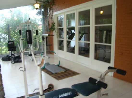 Barradas Parque Hotel & Spa : gym