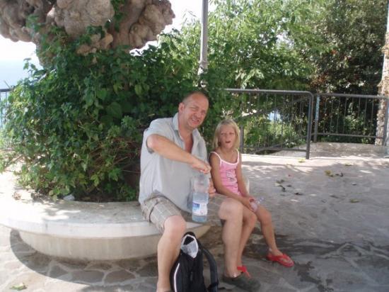 Sperlonga, Italien: Min lilla sötnos och jag i talien.09