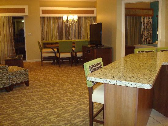 Marriott's Legends Edge at Bay Point : Living room