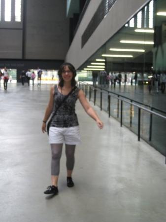 me at Tate Modern