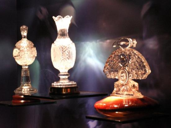 Waterford, Irlande : Some of the trophys on display.