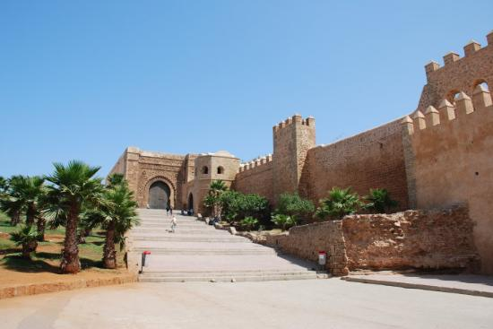 Kasbah des Oudaias: Kasbah of the Udayas, Rabat  (A Kasbah is a fortress)