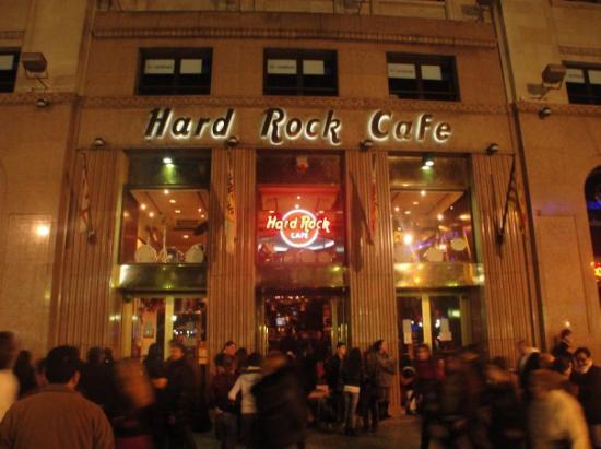hard rock cafe barcelona picture of hard rock cafe barcelona tripadvisor. Black Bedroom Furniture Sets. Home Design Ideas