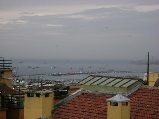Hali Hotel: Terrace View 2