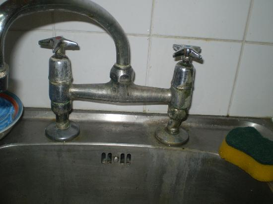 Tobago Island Suites : would you use a sink looking like this?
