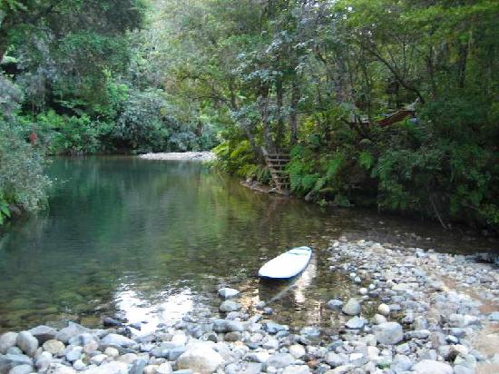 Wairua Lodge - The Hidden River Valley: One of the swimming holes